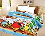 Om Gyatri Kids quilt motu patlu A.C Blanket single bed size Dohar