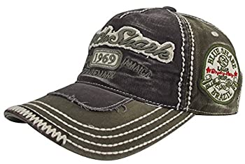 Minakolife Rock Shark Kingston 1969 Jamaica Distressed Vintage Trucker Baseball Cap Hat (Grey) 0