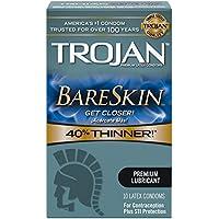 Trojan Sensitivity dünne Kondome - BareSkin (10er-Pack) preisvergleich bei billige-tabletten.eu