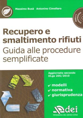 recupero-e-smaltimento-rifiuti-guida-alle-procedure-semplificate-con-cd-rom