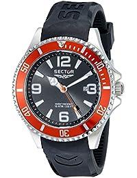 Sector Herren-Armbanduhr 230 Analog Quarz Kunststoff R3251161005