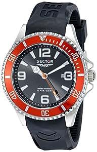 Sector Montre Homme Analogique Quartz avec Bracelet en Plastique – R3251161005