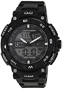 Q&Q Regular Analog-Digital White Dial Men's Watch - GW85J001Y