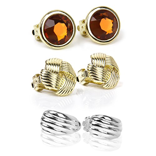 3-pairs-of-ear-clip-earrings-non-pierced-with-gift-box-mixed-styles