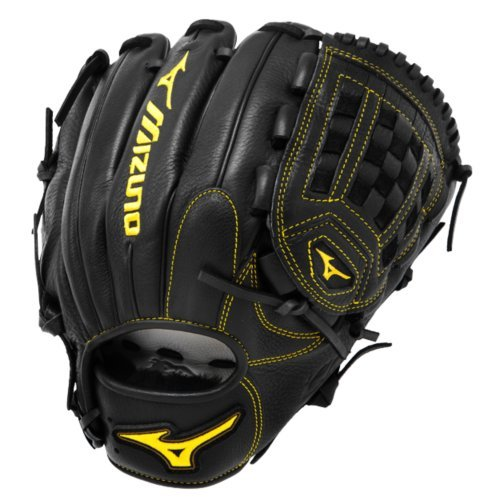 Mizuno gcp1asbk Classic Pro Soft Baseball Handschuh, unisex, 312108.RG90.13.1200, Schwarz, 12-Inch (Infielders Pitcher-baseball-handschuh)