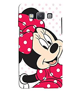 Citydreamz Mickey Minnie Mouse/Disney/Cute/Cartoon/Love/Hearts/Colorful Hard Polycarbonate Designer Back Case Cover For Samsung Galaxy A8