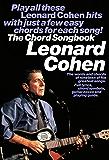 Leonard Cohen: Chord Songbook (Chord Songbooks)