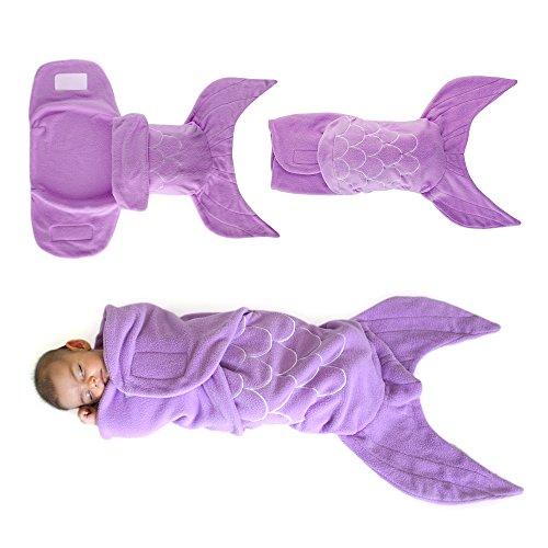 Regalo para Bebé Manta Envolvente Tipo Sirena...