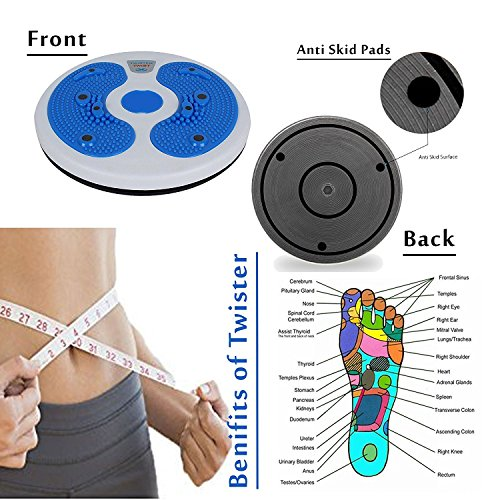 AmpleWings Hot Sweating Body Shapers Slimming Tummy Twister Rotating Machine Cincher Girdle for Weight Loss Women & Men  available at amazon for Rs.375
