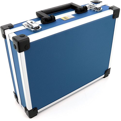 Allit Aluminium Koffer Basic L35 Blau Typ 424120 - 2