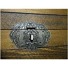 VERROUILLAGE DE VERROU DE clapet de fermeture à loquet ornate c/w (avec vis Finition bronze Coffret de Celtic Woods portefeuille C036 calendrier)