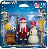 Playmobil 4890 Christmas Santa Claus with Snowman