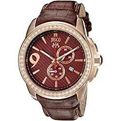 Jivago Men's JV1531 Gliese Analog Display Swiss Quartz Brown Watch