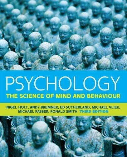 Psychology: The Science of Mind and Behaviour (UK Higher Education Psychology) por Ronald Smith