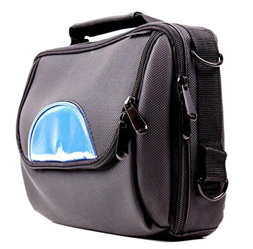 DVD Player Tasche zum Befestigen an der Kopfstütze für Ematic EPD909BU / EPD909PR / EPD909RD 9-Inch Portable DVD Player