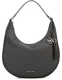 Michael Kors Lydia Large Hobo Bag- Black