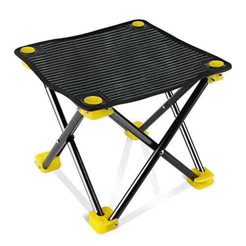 DYFYMX Stilvoller Hocker Angeln Stuhl Faltbar Tragbar Angeln Stuhl Mini Angeln Hocker Skizzieren Kleine Outdoor-Stuhl, Möbel