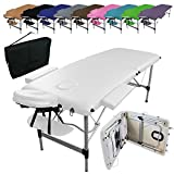 Vivezen  Table de massage pliante 2 zones en...