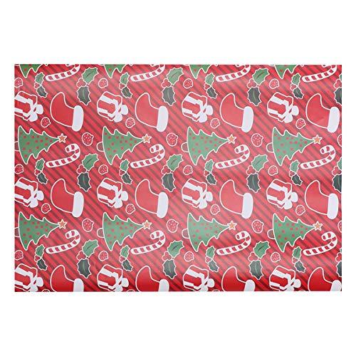 Healifty Geschenkpapierrolle für Hochzeiten, Geburtstage, Valentinstag, Weihnachten, 10 Stück