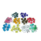 Car Motorbike Best Deals - All Trade Direct 30 X Mixed Amp Mini Blade Fuses Car Motorbike Atm Auto