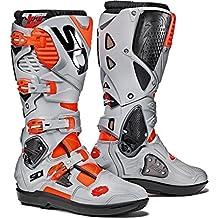 e5e4ca9cff924 Sidi Crossfire 3 SRS Motocross Boots 43 Red Fluo Ash (UK 9)