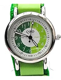 Kids/Boys/Girls Green Time Tutor/Teacher Watch QBD