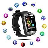 MFY&CZ Bluetooth Smart Watch Sport Smartwatch mit Kamera Wasserdicht Uhren Herzfrequenz Fitness Tracker Armbanduhr Kompatible iOS iPhone Android Samsung LG für Herren Damen