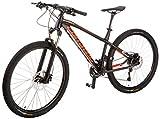 Corratec X Vert 650B 0.4 Fahrrad, Schwarz matt/Neon Orange/Silber, 49