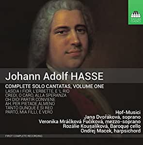 Hasse: Complete Solo Cantatas, Vol 1