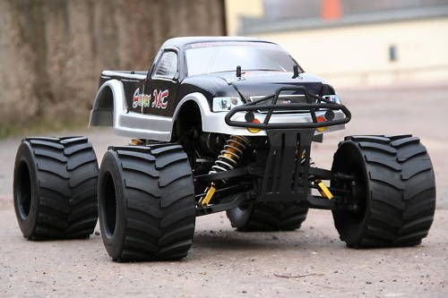 4x4 Off-road Rc Monster Truck (RC MEGA MONSTER TRUCK 1:4 4X4 RTR 35ccm 4PS 80Km/h VERBRENNER 1:5 NEUHEIT)
