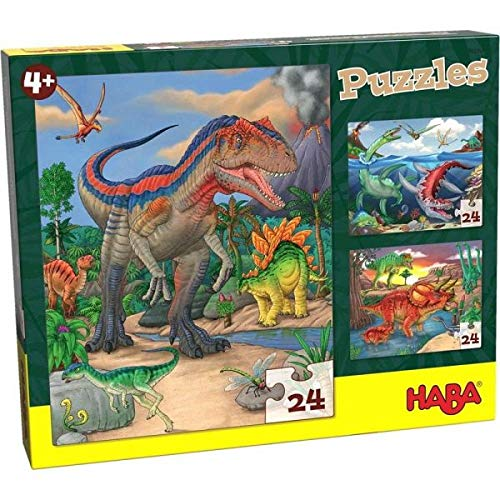 Haba 303377 Puzzles Dinosaurier (Puzzle Dinosaurier)