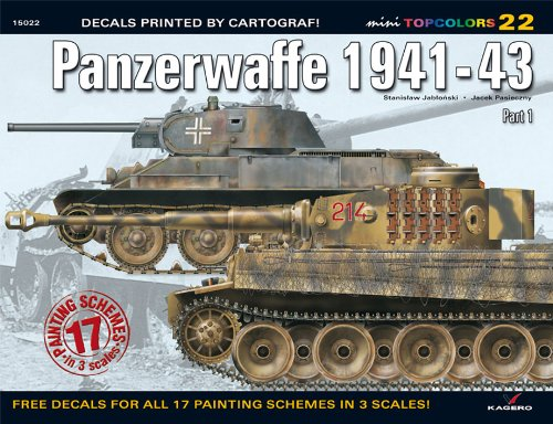 Panzerwaffe 1941-43 (Top Colours)