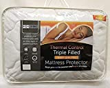 Highliving ® Quilted Mattress Protector Topper Cover, Extra Deep 12 Inches