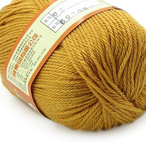 uu19ee 50G Fil Au Crochet Fil Naturel Naturel Naturel De Laine De Soie Fibre À Tricoter Doux Chaud Crochet Fil pour Tricoter Antistatique Fil Doux B07L4HG2SH f2e9bb