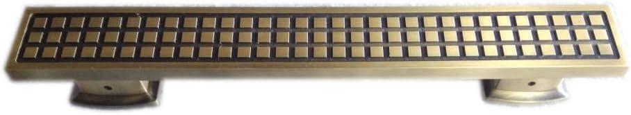 "Surya Prabha Aluminium Main Door Handle, Gold (Size: 24""-inches) 2 Pcs. SP-102"