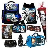 Star Wars 9 TLG. Schulranzen RANZEN Episode 7 SCHULTÜTE Rucksack Tasche Set + Sticker von Kids4shop