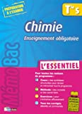 MEMOBAC ESSENTIEL CHIMIE TERM