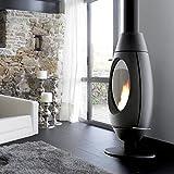 Estufa a leña chimeneas Montegrappa Ovetto 10KW