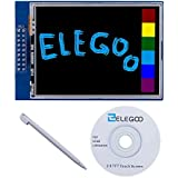 Elegoo UNO R3 2,8 Pouces écran Tactile TFT Touch Screen avec SD Card Socket avec All Technical Data en CD pour Arduino UNO R3