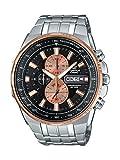 Casio Edifice Analog Black Dial Men's Watch-EFR-549D-1B9VUDF