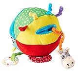 Best Nuby tout-petits jouets - NUBY - Squeak Rattle N' Roll Balle Douce Review
