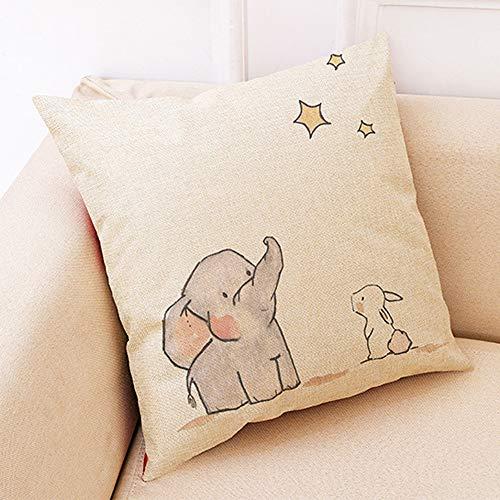 JIJI866 - Funda de cojín Decorativa para bebé y habitación de los...