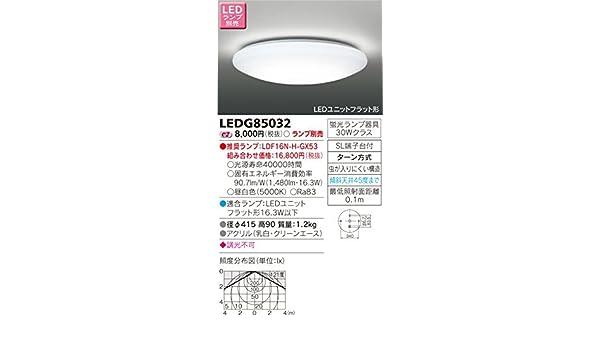 Toshiba Ledg85032 Led Deckenleuchte Für Den Kamera