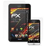 atFoliX Pellicola Proteggi per ASUS PadFone Mini Tablet&Smartphone Protezione Pellicola dello Schermo, Rivestimento antiriflesso HD FX Protettore Schermo (Set di 3)
