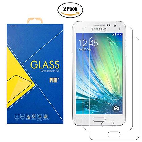 [2 Pack] Protector Cristal Vidrio Templado Samsung