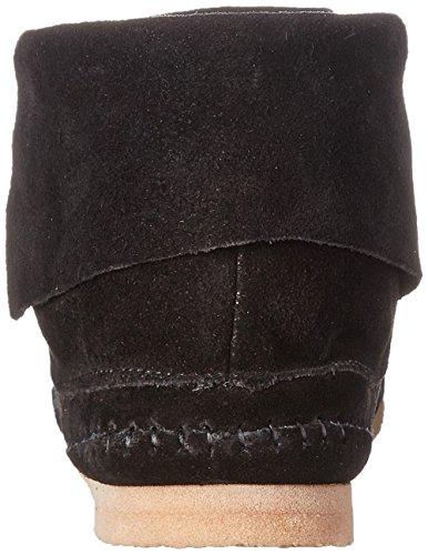 Lucky Brand Camella Daim Bottine Black