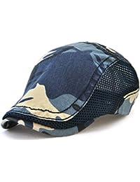 Amazon.it  basco uomo - Baschi e berretti   Cappelli e cappellini ... 6f53ae87221e