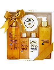 Bath Gift Set - Argan Oil, Coffret Cadeau-Coffret de bain