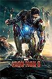 Iron Man 3 Robert Downey Jr Poster Drucken (60,96 x 91,44 cm)
