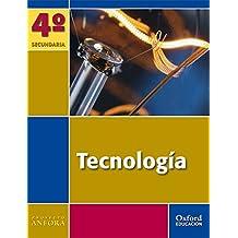 Tecnología 4º ESO Ánfora. Pack (Libro del Alumno + Cuaderno + CD) - 9788467343397